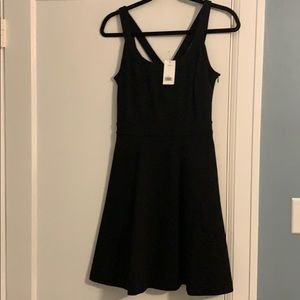 Banana republic size 0 black dress